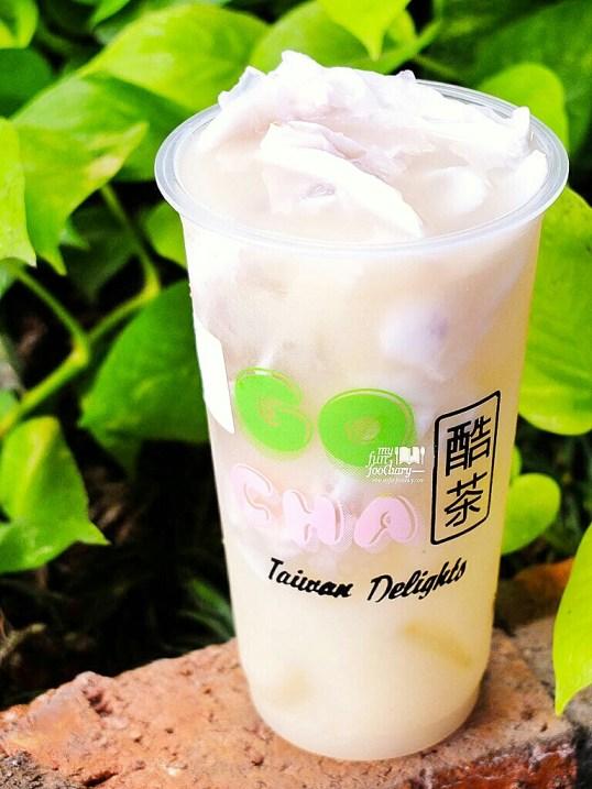 Homemade Ice Coconut Jelly Yakult