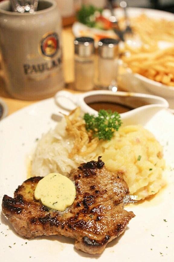 Char Grilled Pork Neck Steak
