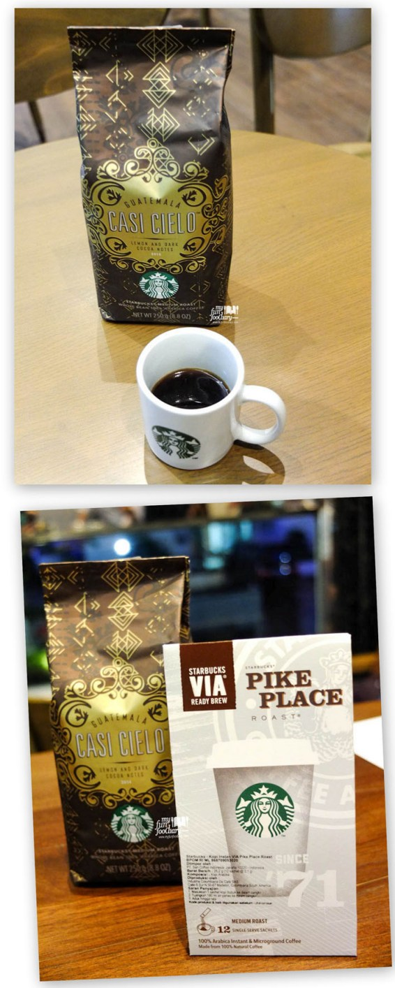 NEW Starbucks Guatemala Casi Cielo & Starbucks VIA Pike Place