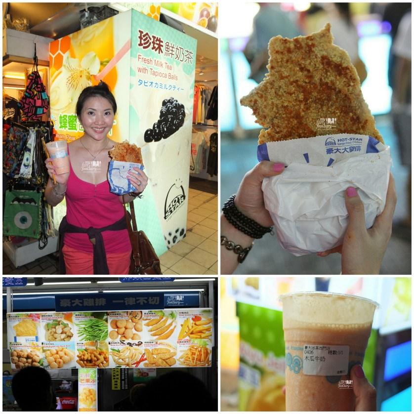 Hot Star Chicken and Papaya Milk