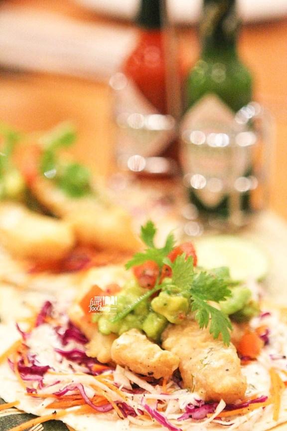 Baja Fried Fish Tacos with Avocado & Homemade Salsa