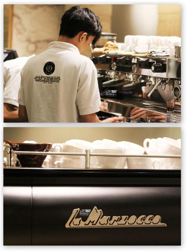 Making the Latte Art