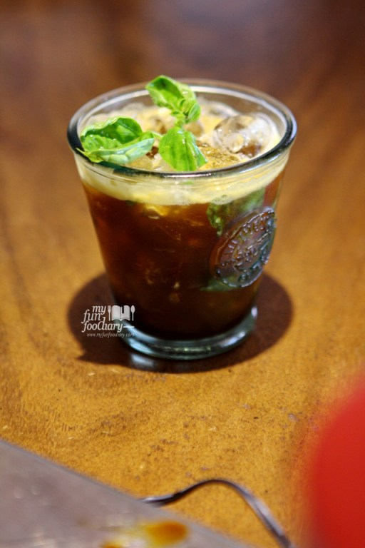 Basil Espressotini at Two Cents Coffee - by Myfunfoodiary
