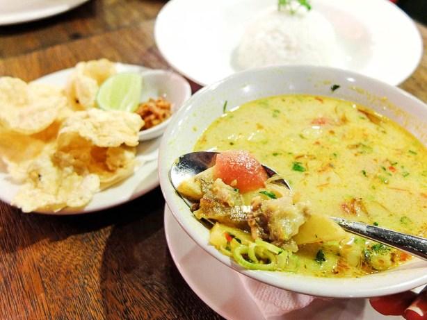 Soto Tangkar with Jasmine Rice
