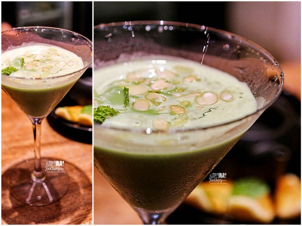 Green Tea Almond Martini Cocktails 02 Yellowfin Senopati by Myfunfoodiary -all