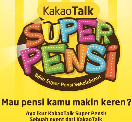 KakaoTalk Super Pensi