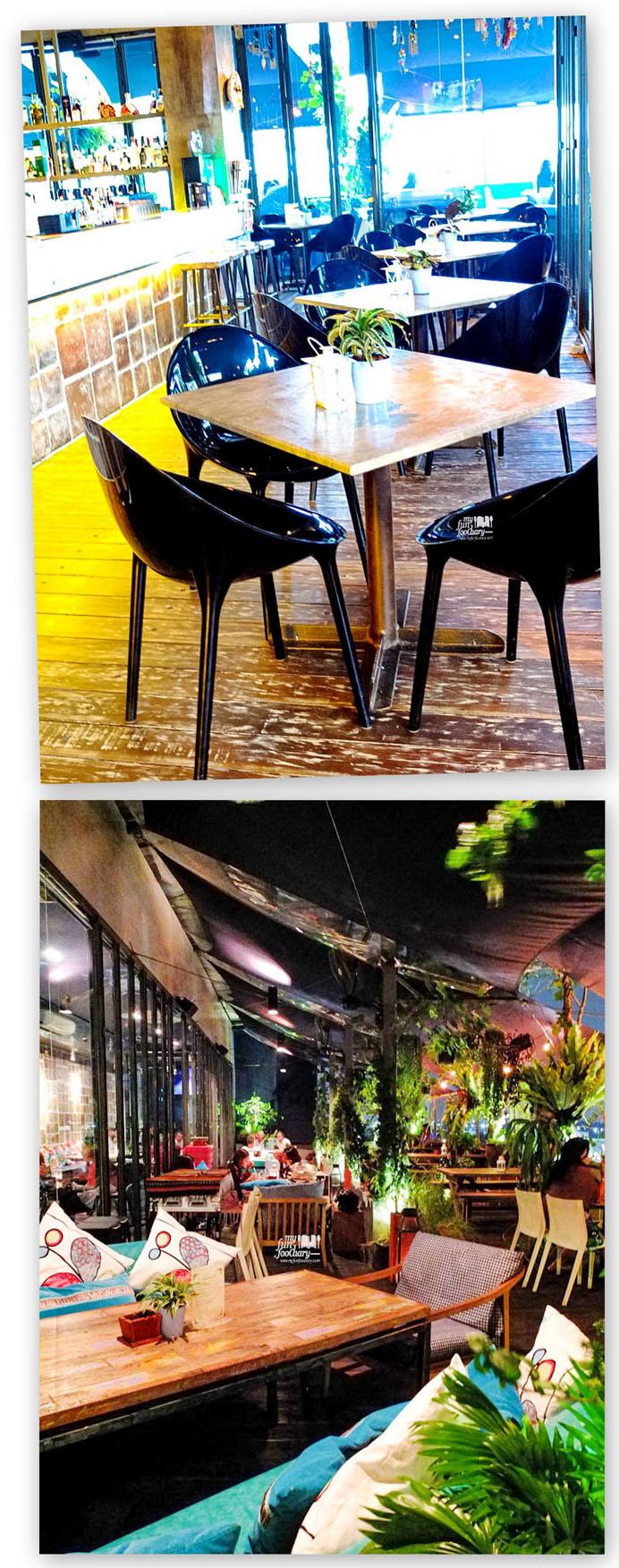 Lovely Ambience Indoor and Outdoor Area di Resto FJ on 7 Kemang
