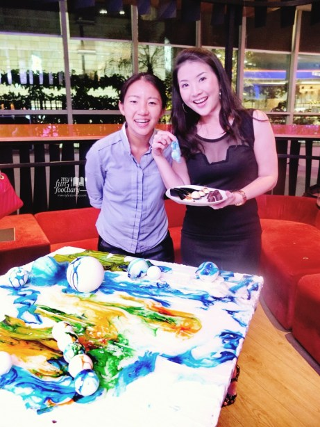 Mullie Marlina with Dessert Queen and Pastry Chef Janice Wong 2am Dessert Bar owner at Moovina Plaza Indonesia for Secret Dinner with Singapore Tourism Board - nyfunfoodiary