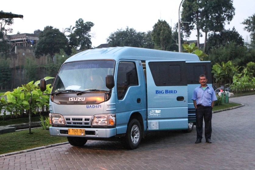 BlueBird Mini Bus by Myfunfoodiary