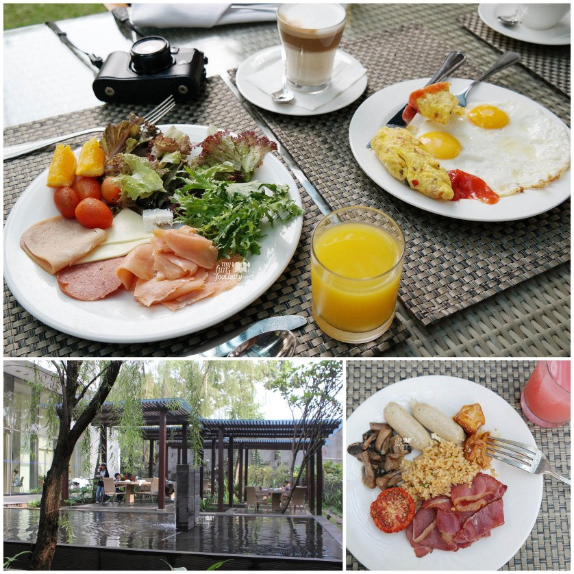 Buffet Breakfast at Purnawarman Hilton Bandung by Myfunfoodiary