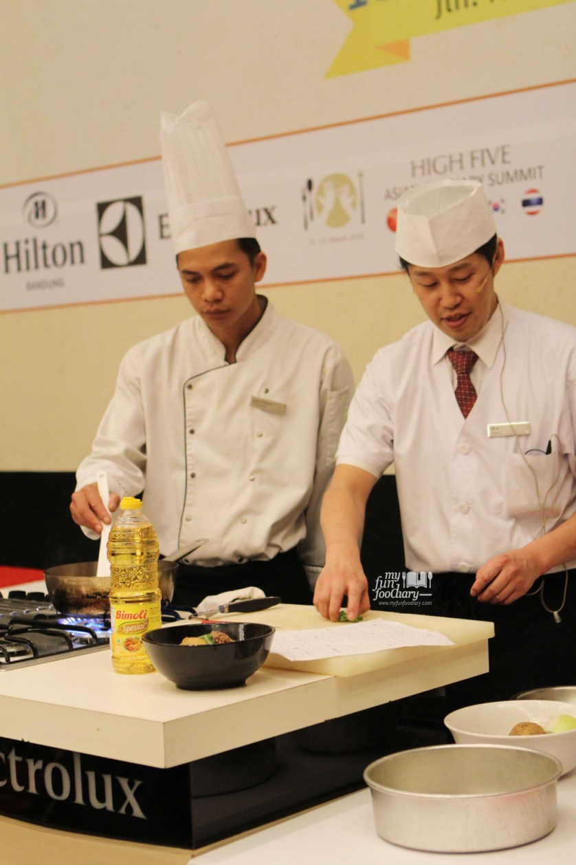 Chef Jin Suzuki at Hilton Bandung by Myfunfoodiary