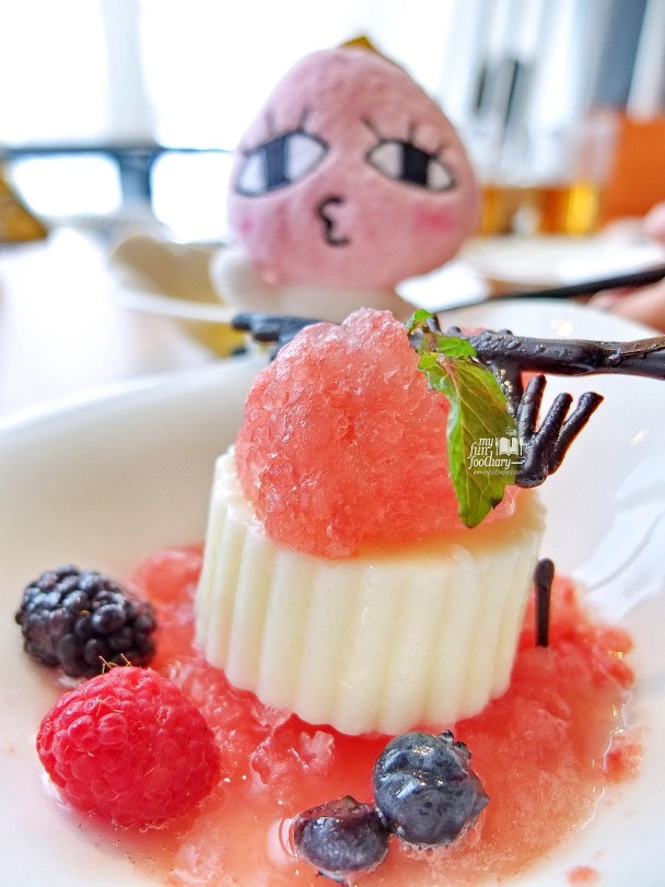 Watermelon Granita Panna Cotta at MAD Jakarta by Myfunfoodiary