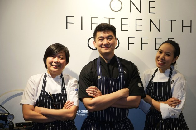Chef Angela Chef Arnold Chef Talita by Myfunfoodiary