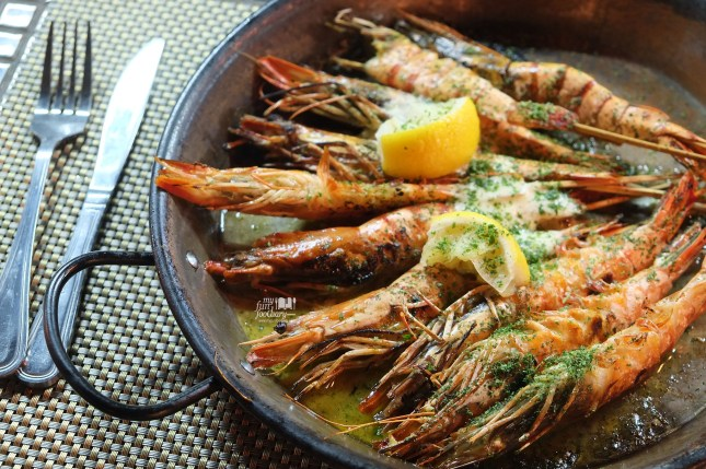 Gambas al a Plancha at Tapas Movida by Myfunfoodiary