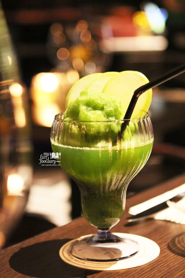 Green Apple Daiquiri at Immigrant Dining Room by Myfunfoodiary