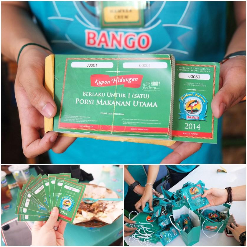 Kupon Kecap Bango di Festival Jajanan Bango by Myfunfoodiary
