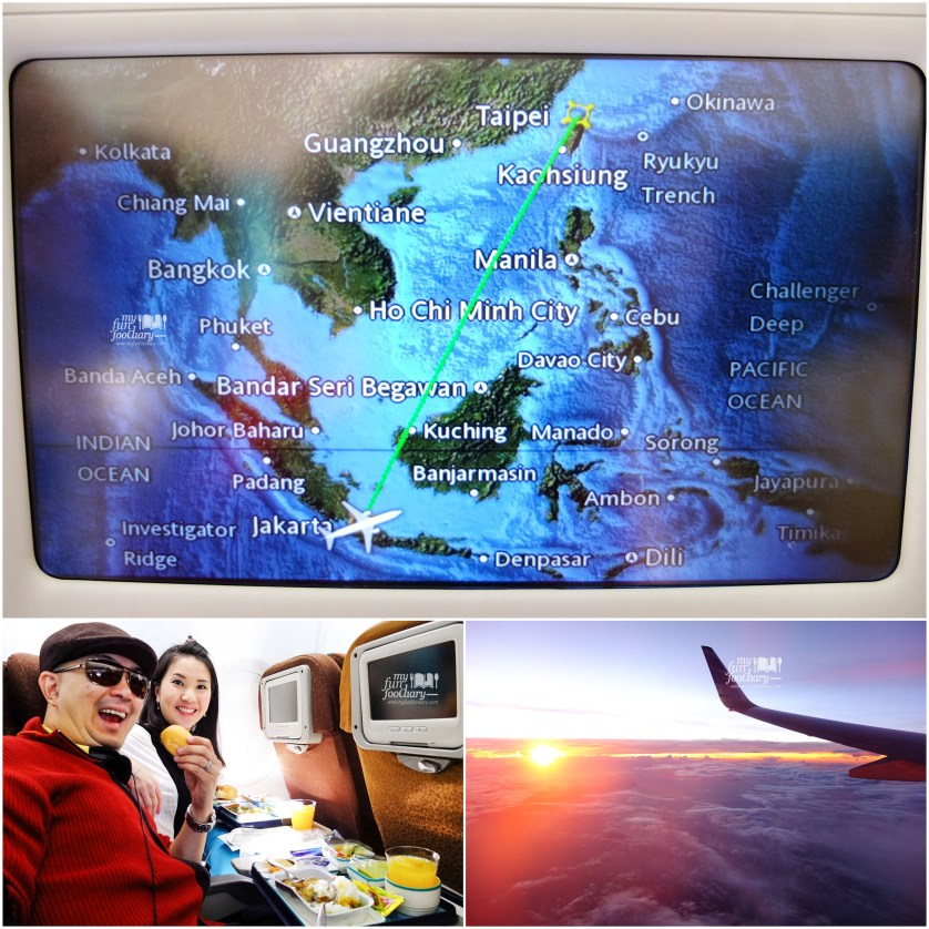 Our Flight to Taiwan by Garuda Airlines - Myfunfoodiary