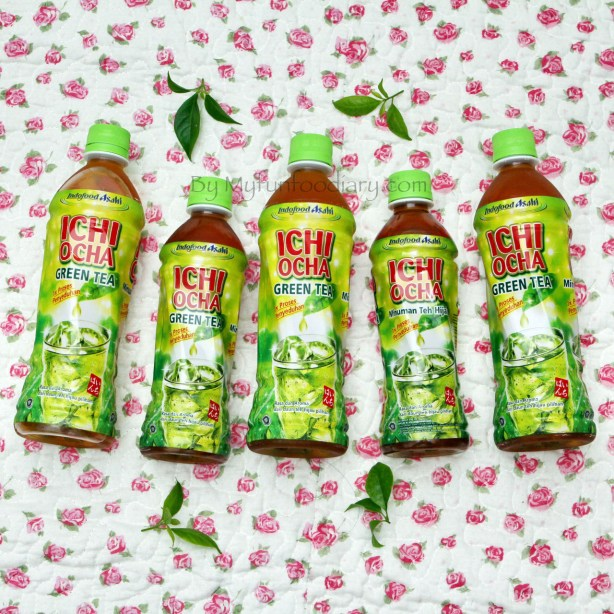 Produk Ichi Ocha Teh Jepang Kemasan by Myfunfoodiary