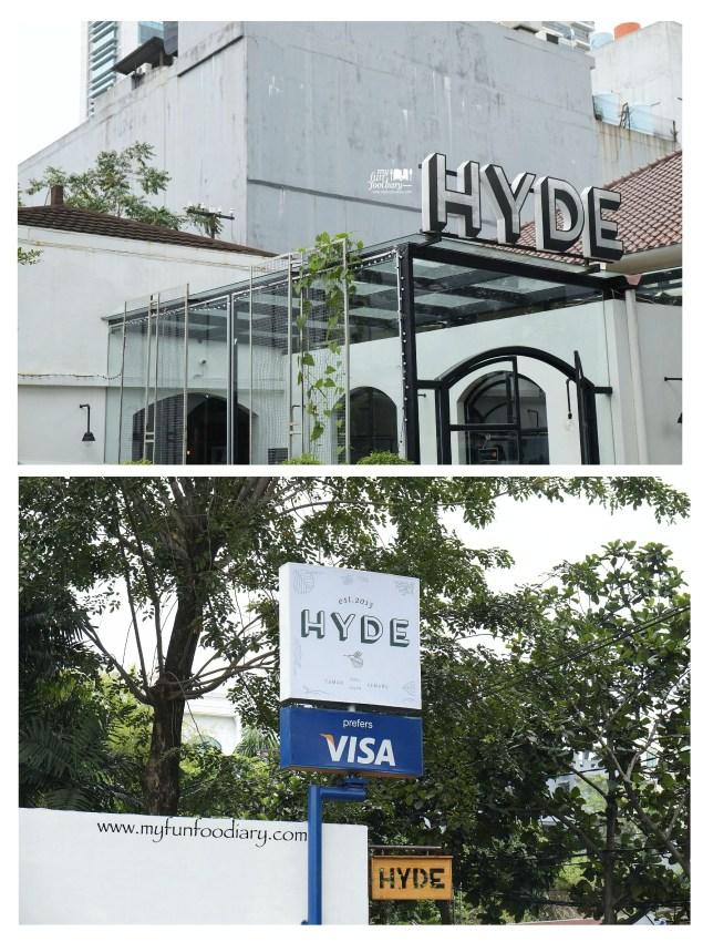 Tampak Depan Hyde Kemang by Myfunfoodiary