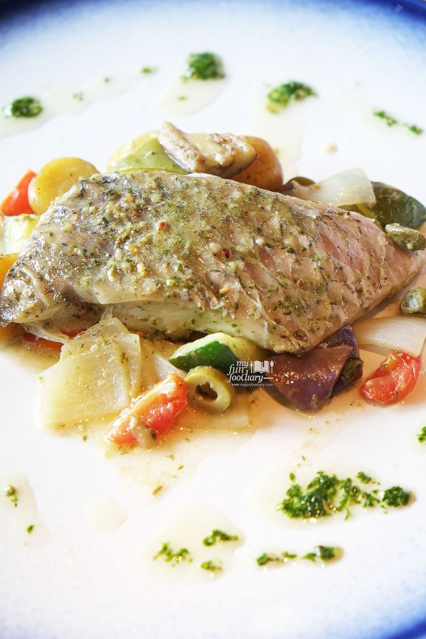 Branzino All' Isolana Al Cartoccio at Balboni Ristorante by Myfunfoodiary