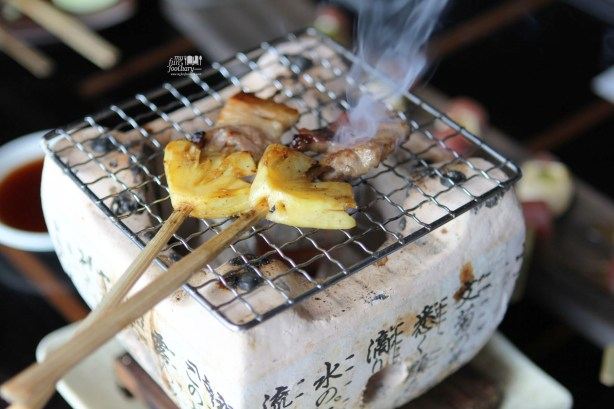 Butabara Pineapple Kushiyaki at Enmaru Restaurant Altitude The Plaza by Myfunfoodiary