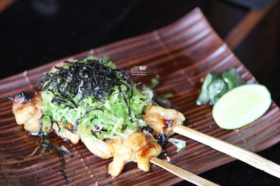 Tori Momo Negi at Enmaru Restaurant Altitude The Plaza by Myfunfoodiary