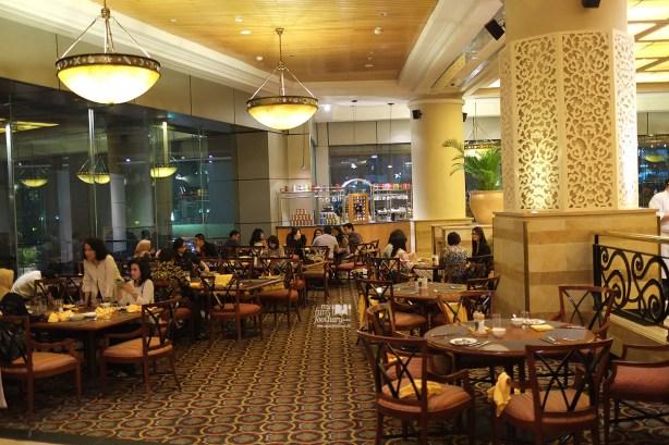 Ambience at Sailendra Restaurant JW Marriott Jakarta by Myfunfoodiary