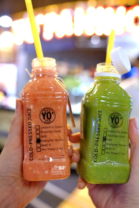 Cold Pressed Juice at Yo Panino Jakarta by Myfunfoodiary