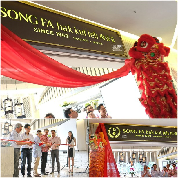 Grand Opening Ceremony at Song Fa Bak Kut Teh Jakarta by Myfunfoodiary
