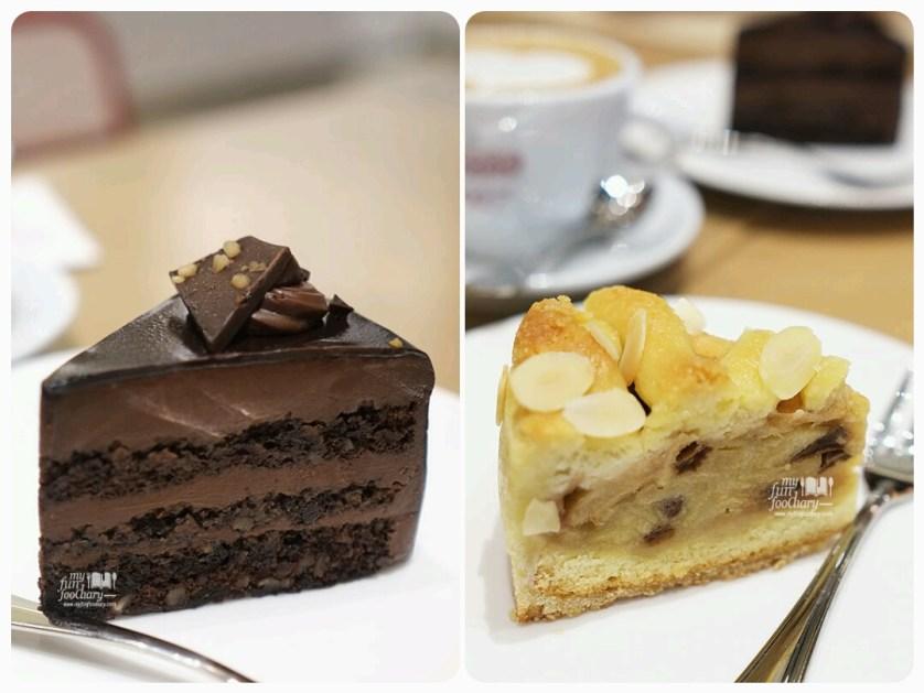 Hazelnut Chocolate and Apple Pie Cake at Popolamama Indonesia by Myfunfoodiary