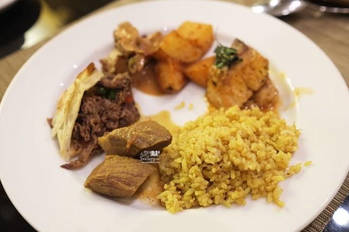 Masakan Timur Tengah di Olam All Day Dining JS Luwansa Hotel by Myfunfoodiary