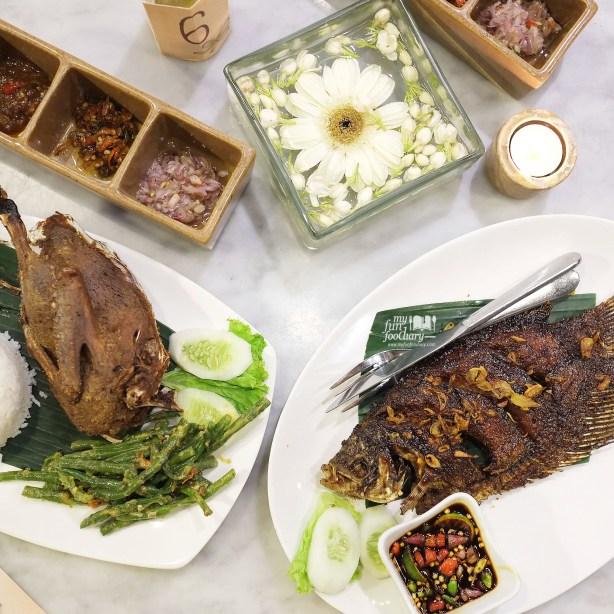My fave Bebek Crispy dan Gurame Barong Bakar at Bebek Tepi Sawah by Myfunfoodiary
