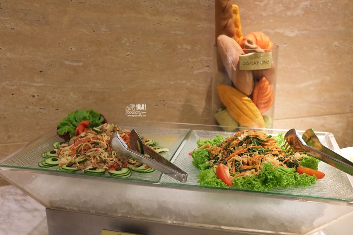 Salad Station at Olam All Day Dining JS Luwansa Hotel by Myfunfoodiary