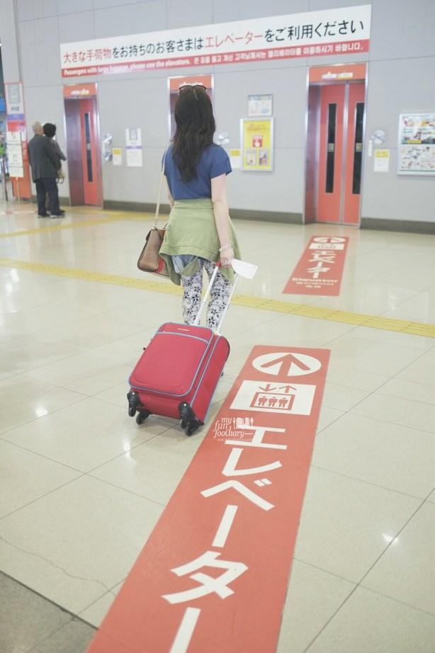 Arrival at Osaka Kansai Airport - by Myfunfoodiary