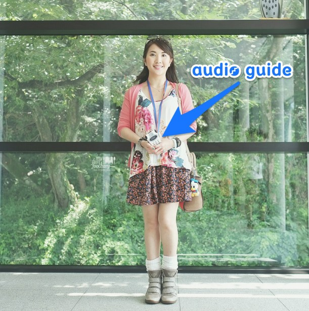 Audio Guide on Me at Fujiko F Fujio Museum by Myfunfoodiary