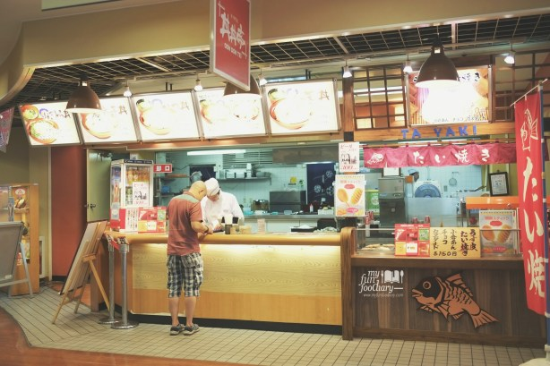 Don Don Tei outlet inside Tempozan Market Place Osaka by Myfunfoodiary
