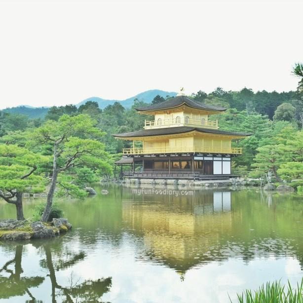 The Golden Pavilion Temple / Kinkaku-ji Temple by Myfunfoodiary