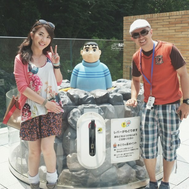 With Giant at Woodcutter's Spring - Fujiko Fujio Museum by Myfunfoodiary