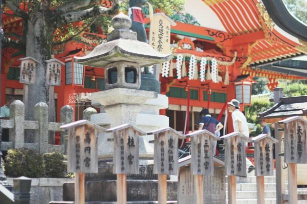 At The Main Hall Fushimi Inari Taisha by Myfunfoodiary