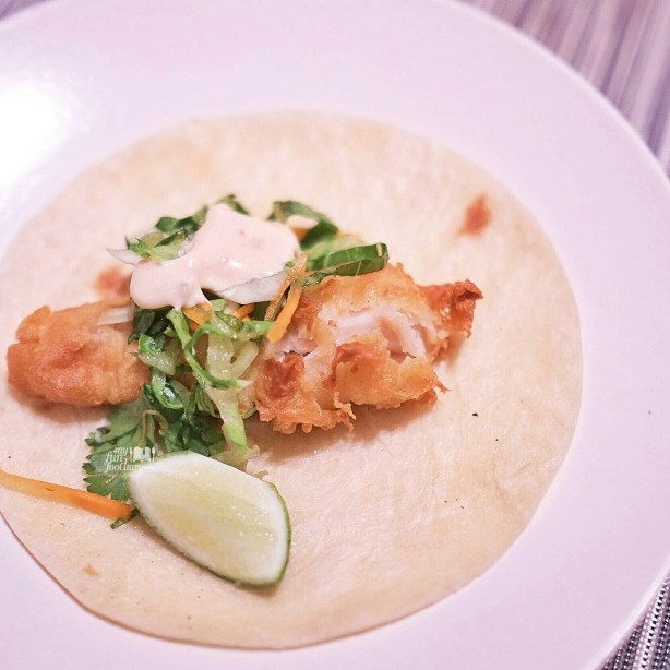 Fried Snapper Taco at Bengawan Restaurant - Keraton at The Plaza by Myfunfoodiary