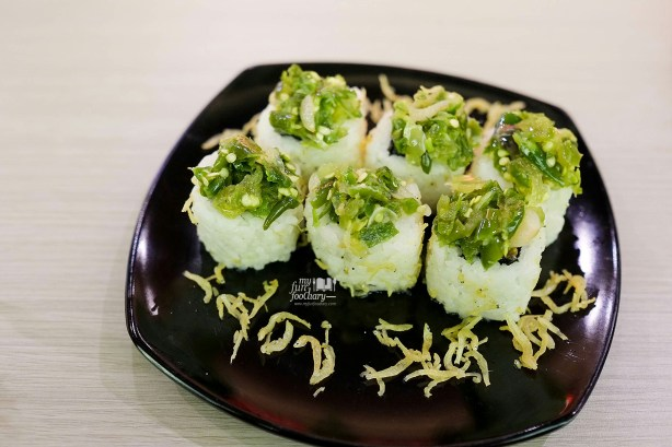 Ikan Bilis Cabe Hijau Roll at Suntiang Restaurant by Myfunfoodiary 01