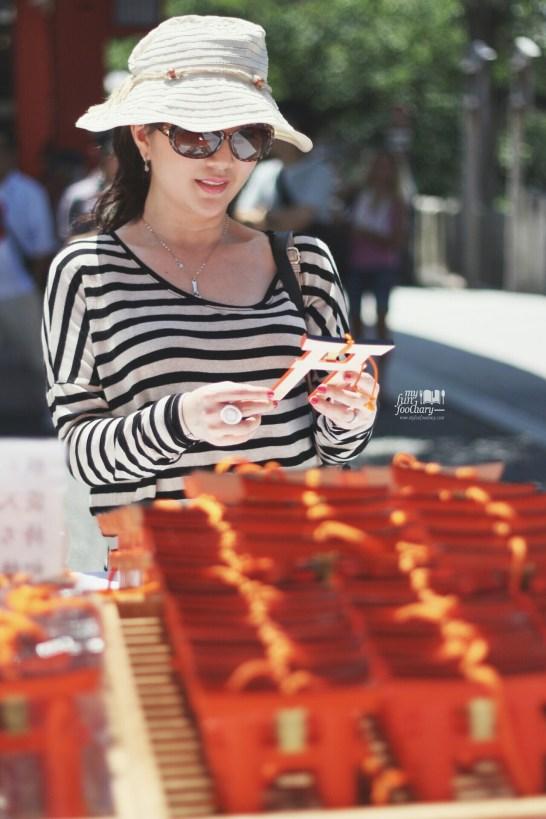 Mini Red Gates for Donates at Fushimi Inari Taisha by Myfunfoodiary