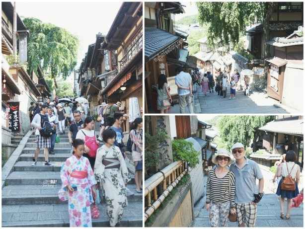 Shops All The Way the alley at Kiyomizudera Temple by Myfunfoodiary