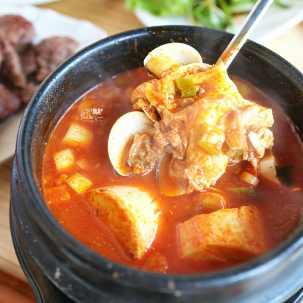 Sundubu Jjigae at Seorae Flavor Bliss Alam Sutera by Myfunfoodiary