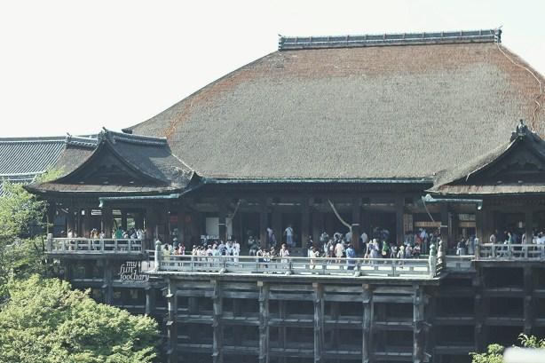The Main Hall at Kiyomizudera Temple