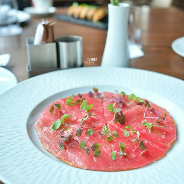 Tuna Pizza at Akira Back Jakarta by Myfunfoodiary 01