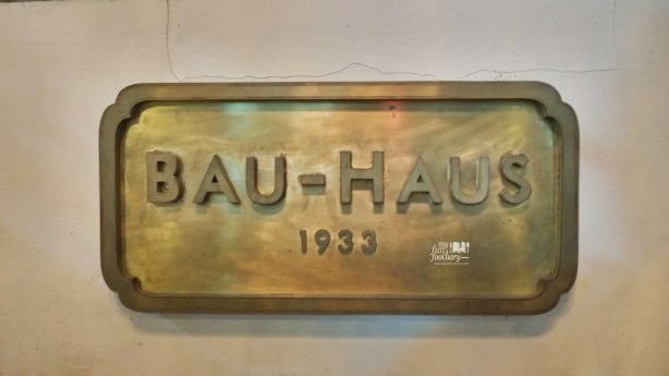 Bau-Haus 1933 at Bauhaus 1933 by Myfunfoodiary