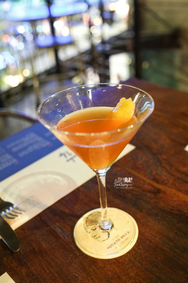 Bourbon Darjeeling Martini at Potato Head SCBD Pacific Place Jakarta by Myfunfoodiary
