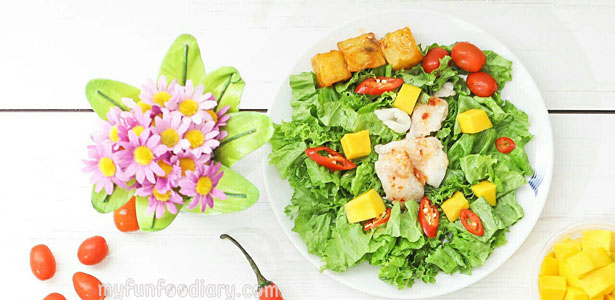 Dory Fish Salad with Sweet Chili Lime Sauce by Mullie Marlina cover