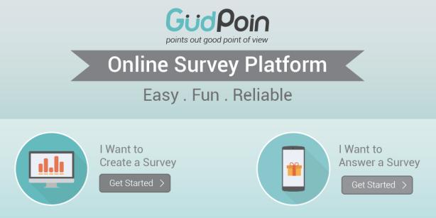 GudPoin Online Survey